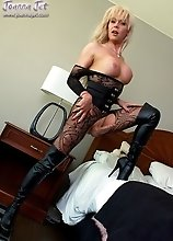 Lace Bodystocking & Boots